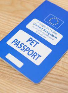 Pet passport
