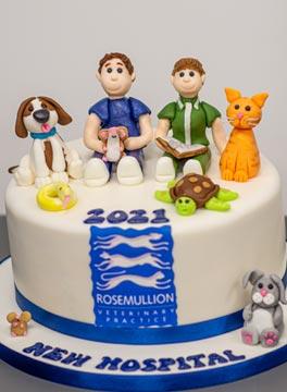 Rosemullion opening cake